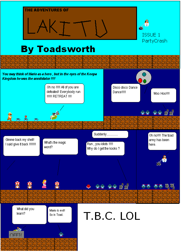 Toad's Castle Fan Comics