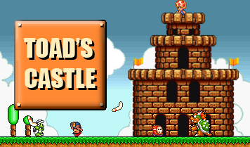 Toad's Castle Super Mario Bros  3 Ending